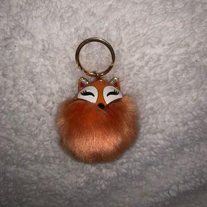 Other - Fluffy Fox Keychain🦊✨